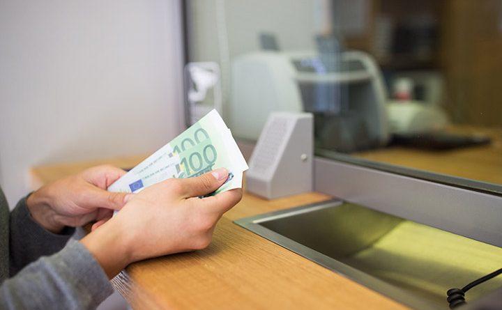 Sicherheit Bank Euro