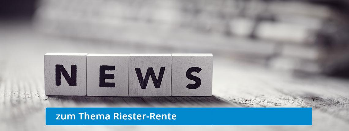Altersvorsorge Riester-Rente