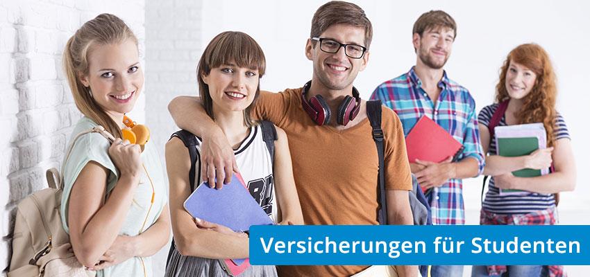 Versicherung Studenten